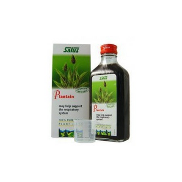 Salus Plantain Organic Fresh Plant Juice 200ml