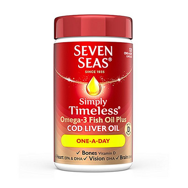 Seven SeasCod Liver Oil One A Day 120s
