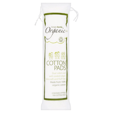 Simply Gentle Organic Cotton Cosmetic Pads 100's