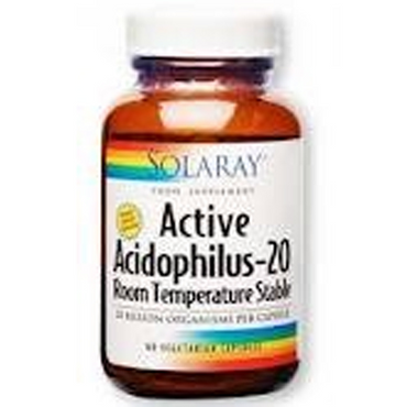 Solaray Active Acidophilus 20 billion - 60ct - veg cap