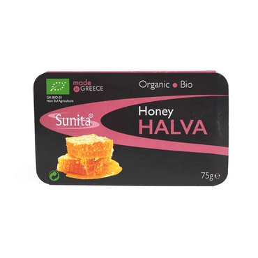 Sunita Organic Plain Honey Halva 75g