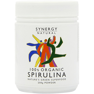 Synergy Natural Organic Spirulina Powder 200g