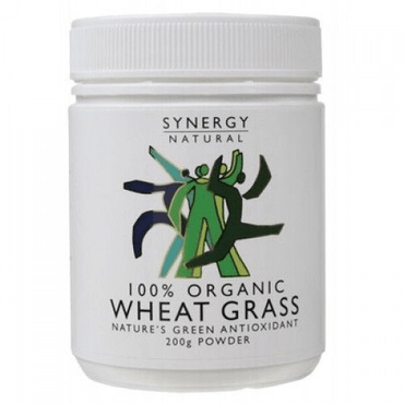 Synergy Natural Organic Wheatgrass Whole Leaf Powder 200g