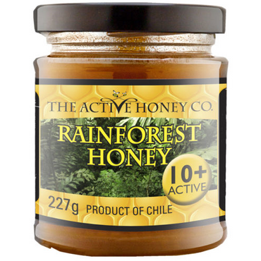 The Active Honey Company Rainforest Honey 10+ 227g