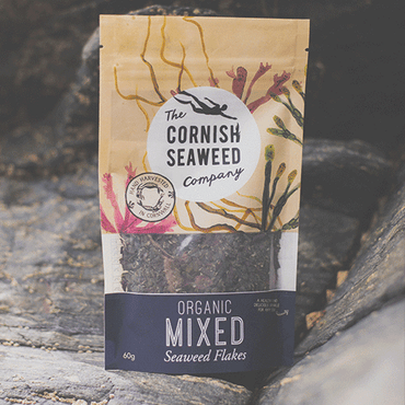 The Cornish Seaweed Company A hearty mix of organic seaweed flakes. 60g