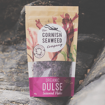 The Cornish Seaweed Company Flaked Organic Dulse Flakes. 40g