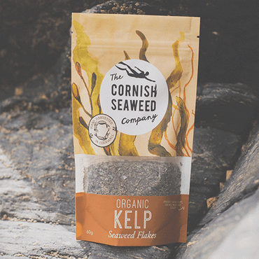 The Cornish Seaweed Company Organic Kelp Flakes 60g