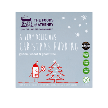 The Foods Of Athenry Gluten Free Christmas Pudding 400g