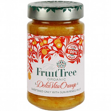 The Fruit Tree Organic DolceVita Orange 100% Fruit Spread 250g