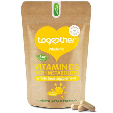 Together Health WholeVit Vitamin D 1000u with Metabolites - 30 Caps