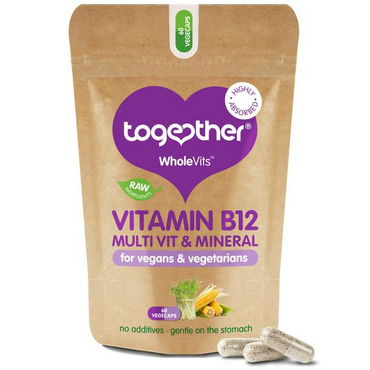 Together Health WholeVit B12 & Diet Support 60 Caps