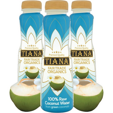 Tiana Pure Raw Coconut Water in 350ml