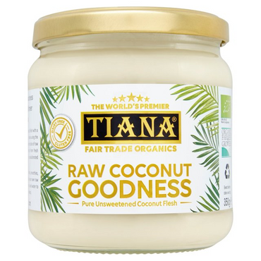 Tiana Raw Coconut Goodness 350g