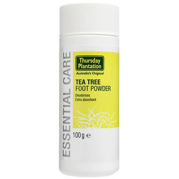 Thursday Plantation Teatree Foot Powder - Tea Tree 100g