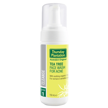 Thursday Plantation Teatree Face Wash Foam - Tea Tree 150ml