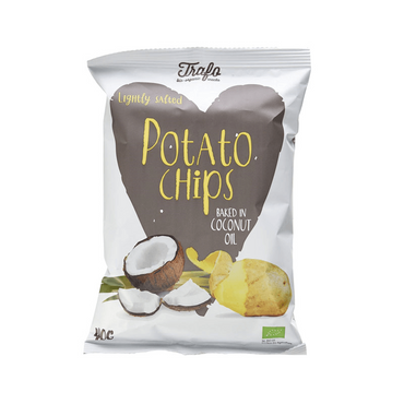 Trafo Organic Chips Fried in Coconut Oil 100g
