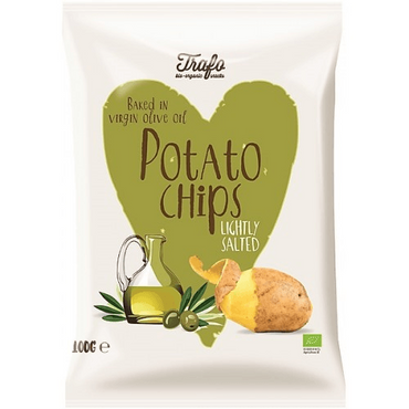 Trafo Organic Chips Fried in Extra Virgin Olive Oil 100g