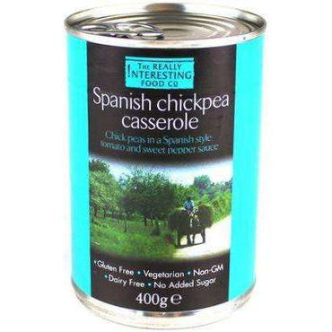 The Really Interesting Food Co Moorish Spanish Chick Pea Casserole 400g