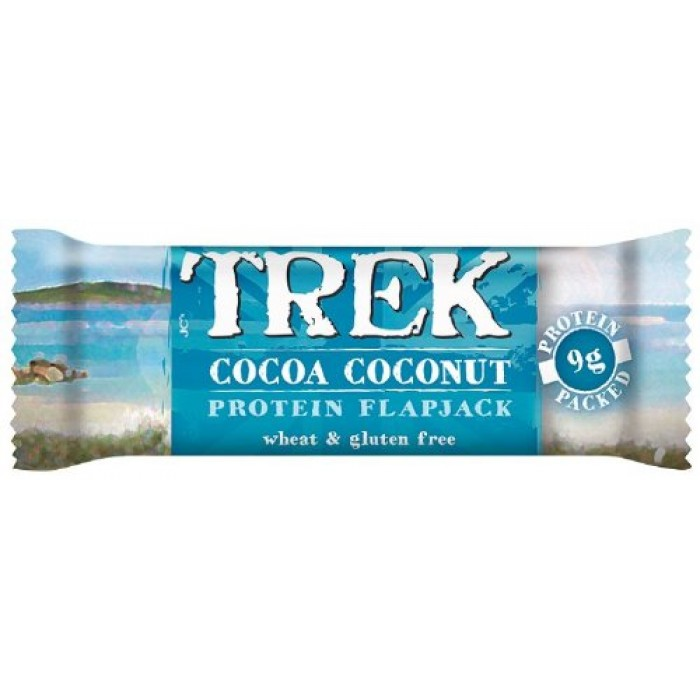 TrekCocoa Coconut Flapjack 50g (Pack of 16)