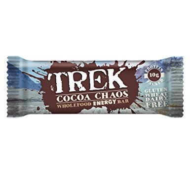 TrekCocoa Chaos 55g Bar (Pack of 16)