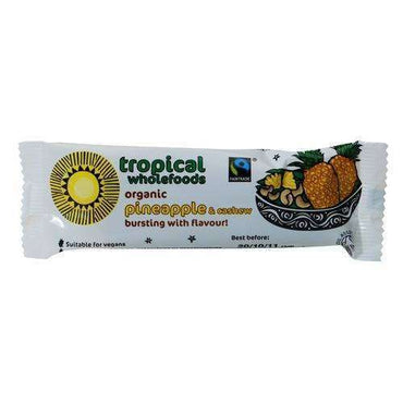 Tropical Wholefoods Fairtrade Organic Pineapple & Cashew Nut 40g