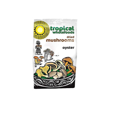 Tropical Wholefoods Oyster Mushrooms - 25g