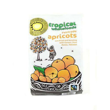 Tropical Wholefoods Fairtrade Sun Dried Apricot 125g