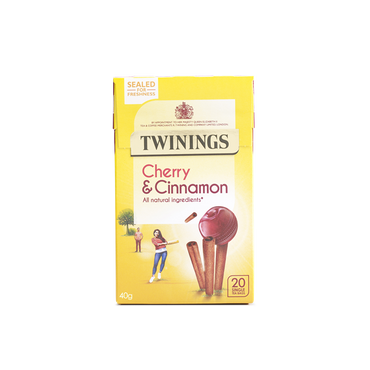 Twinings Cherry & Cinnamon Tea 20 Bags