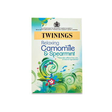 Twinings Relaxing Camomile & Spearmint Tea 20 Bags