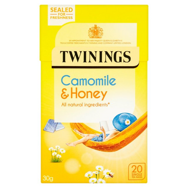 Twinings Soothing Camomile & Honey Tea 20 Bags