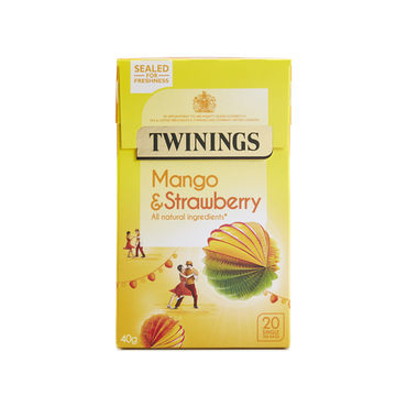 Twinings Mango and Strawberry Tea 20 Bags