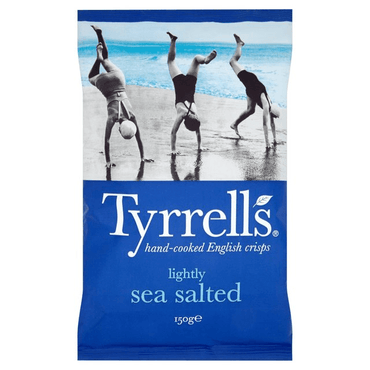 Tyrrells Lightly Salted Crisps 150g(Pack of 6)