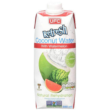 UFC Refresh Coconut Water with Watermelon 500ml