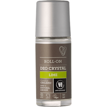 UrtekramCrystal Deodorant Roll On Lime 50ml. Organic