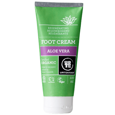 UrtekramAloe Vera Foot Cream Cream - 100ml organic. Vegan. Not t
