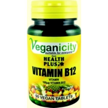 Veganicity Vitamin B12 100ug 90 Vtabs  to provide a good source of this vita