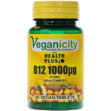 Veganicity B12 1000ug 90 Vtabs  sometimes lacking in the vegan diet and need