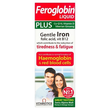 Vitabiotic Feroglobin Plus Liquid 200ml