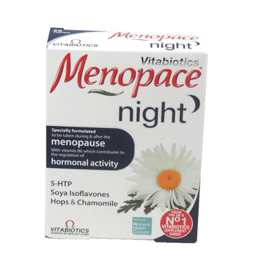 Vitabiotic Menopace Night 30 Tablets