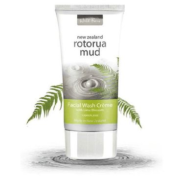 Wild Ferns Rotorua Mud Facial Wash Creme with Lime Blossom 130ml