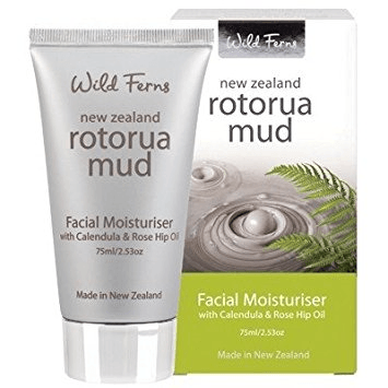 Wild Ferns Rotorua Mud Facial Moisturiser with Calendula and Rose Hip Oil