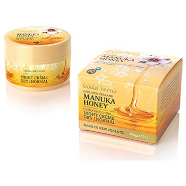 Wild Ferns Manuka Honey Ultra Enriching Night Cream Dry/Normal Skin 100g