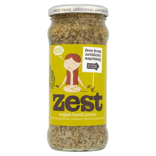 Zest Basil Pesto for Vegans 340g