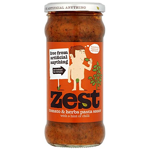 Zest Tomato & Herb Pasta Sauce with a hint of chilli 340g