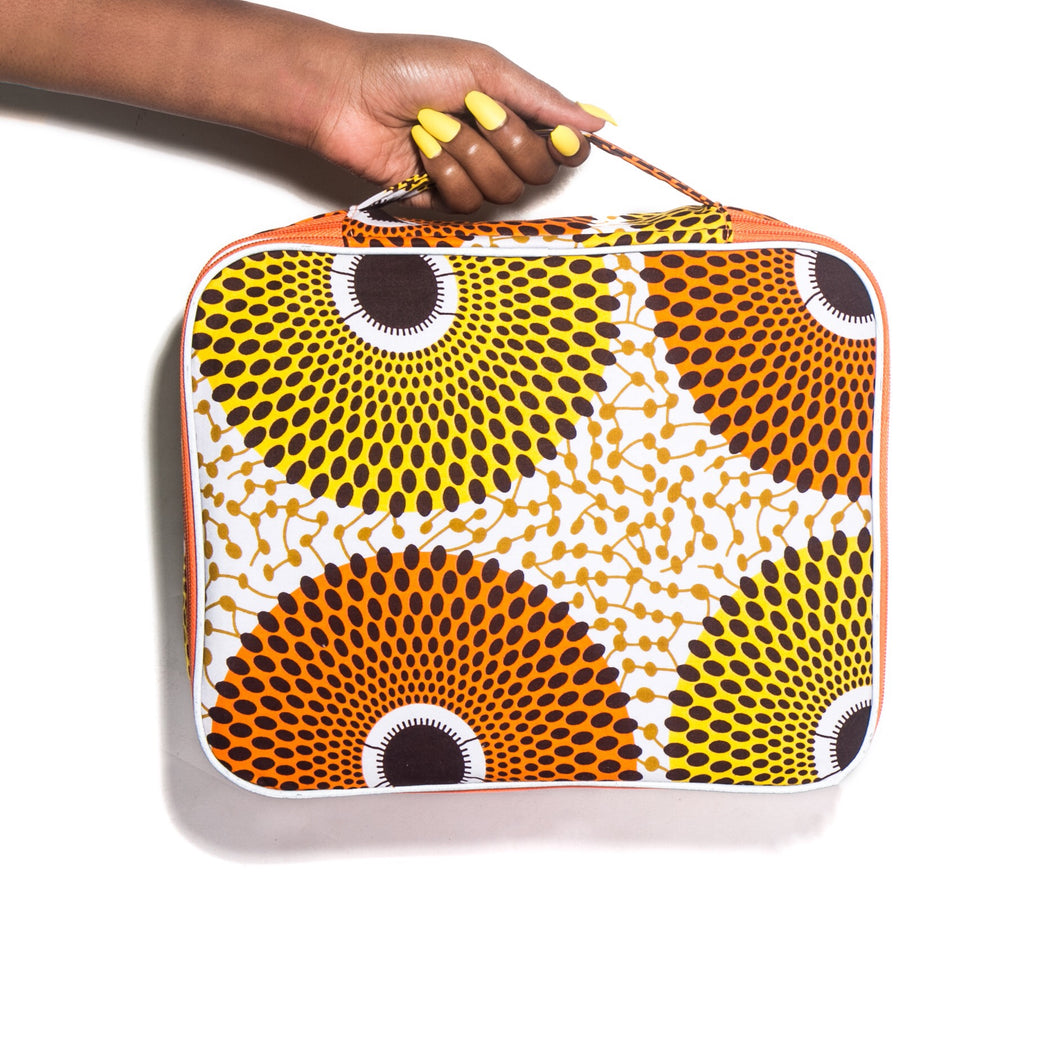 Adamma Beauty Bag - Orange