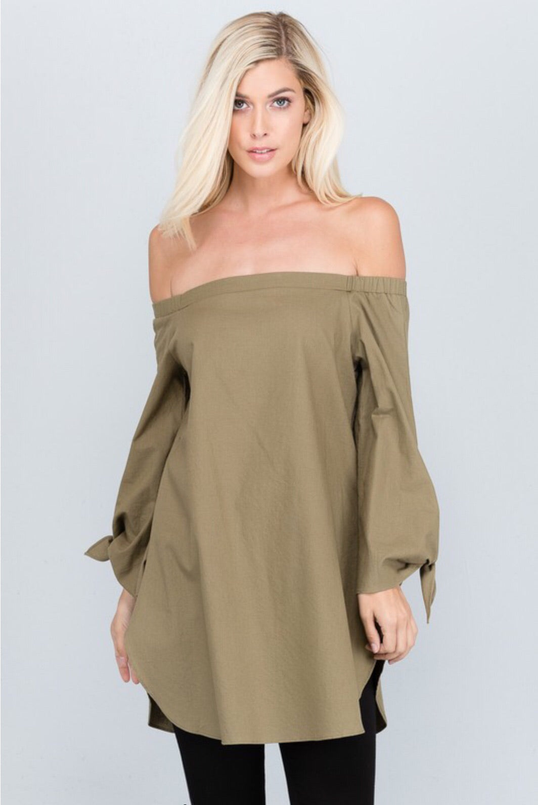 Day & Night Off Shoulder Top