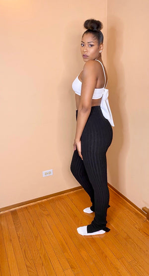 High Waist Extendo Knit Pants