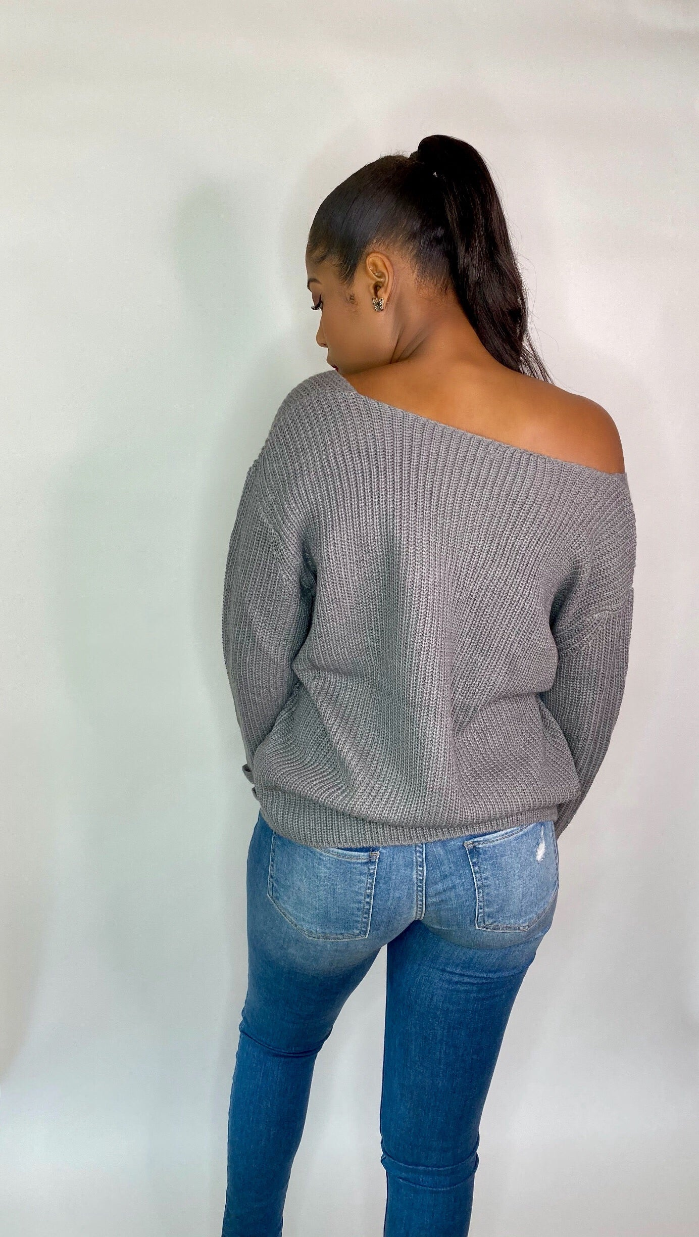 Getting Warmer V Neck Sweater