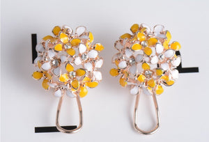 Dainty Floral Earrings