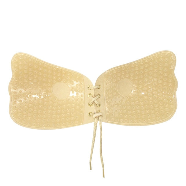 Undetected Adhesive Push Up Bra
